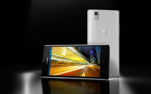 Huawei presentó el smartphone Ascend P2