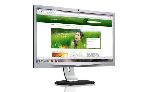 Philips ErgoSensor un monitor LED con tecnología IPS de 23''
