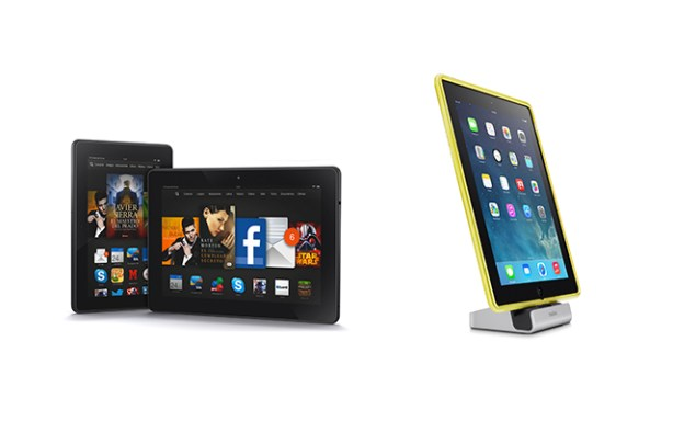 Kindle Fire HDX y Express Dock para iPad de Belkin