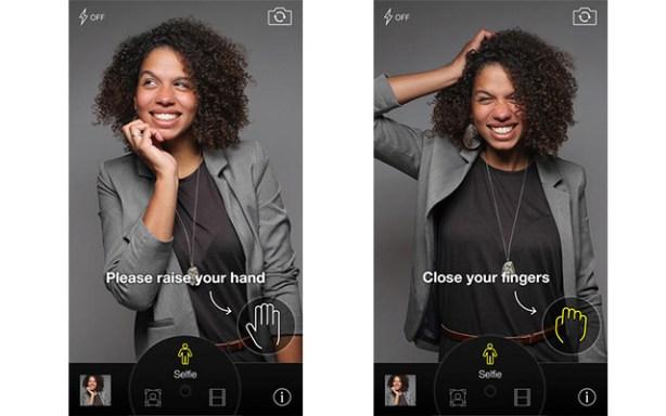 CamMe, una app para hacer selfies