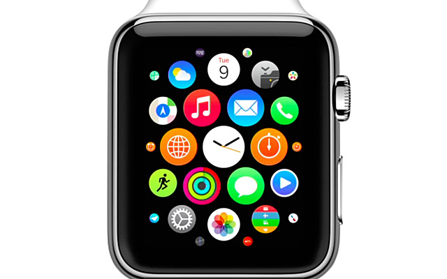 Apple Watch menu