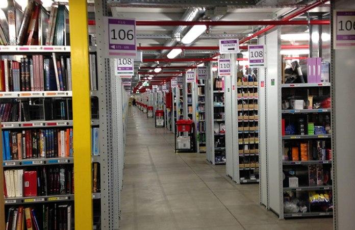 Centro logístico de Amazon España2