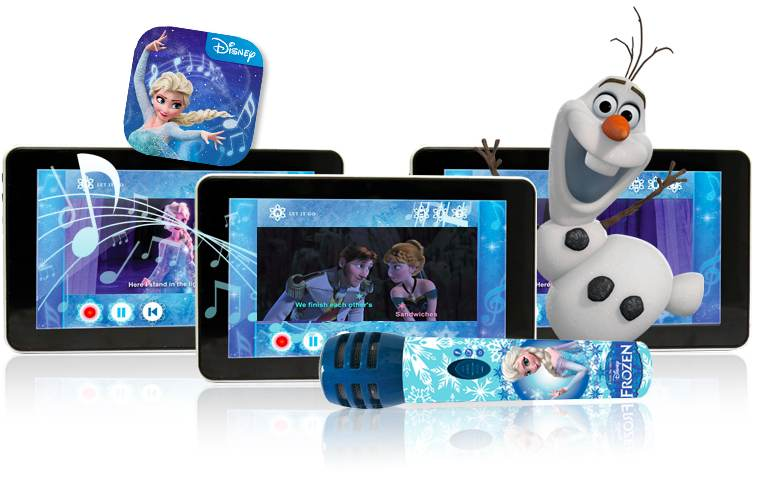Frozen tableta