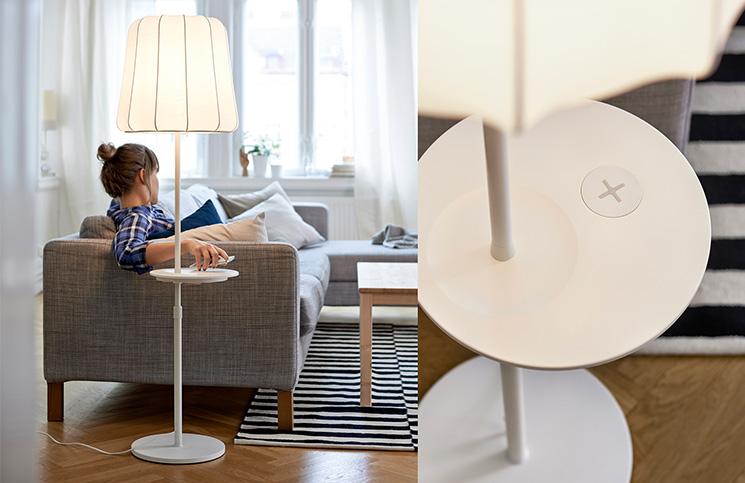 Ikea lanza muebles con carga inalambrica para tu smartphone