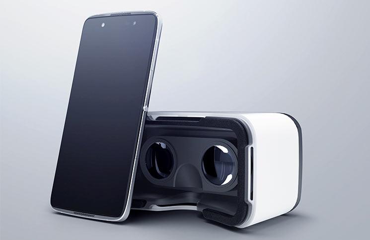 Alcatel Idol4 y VR