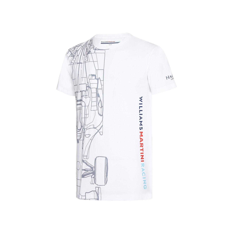 Koszulka T Shirt M Ska Logo Williams Martini Racing Fan