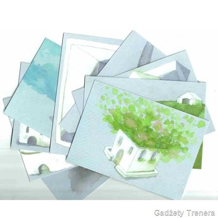 Karty domów karty metaforyczne