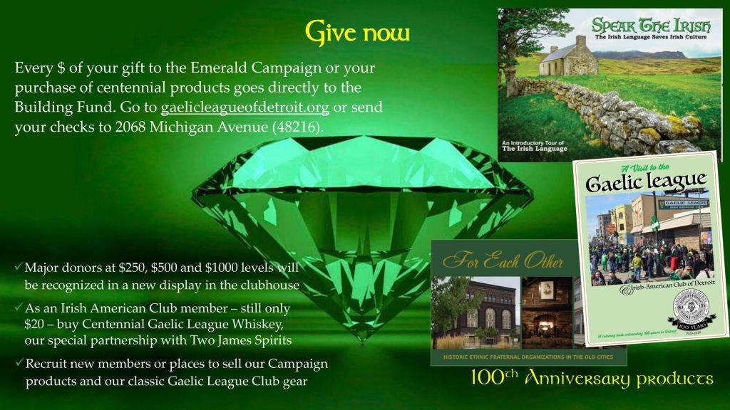 Emerald Campaign 08