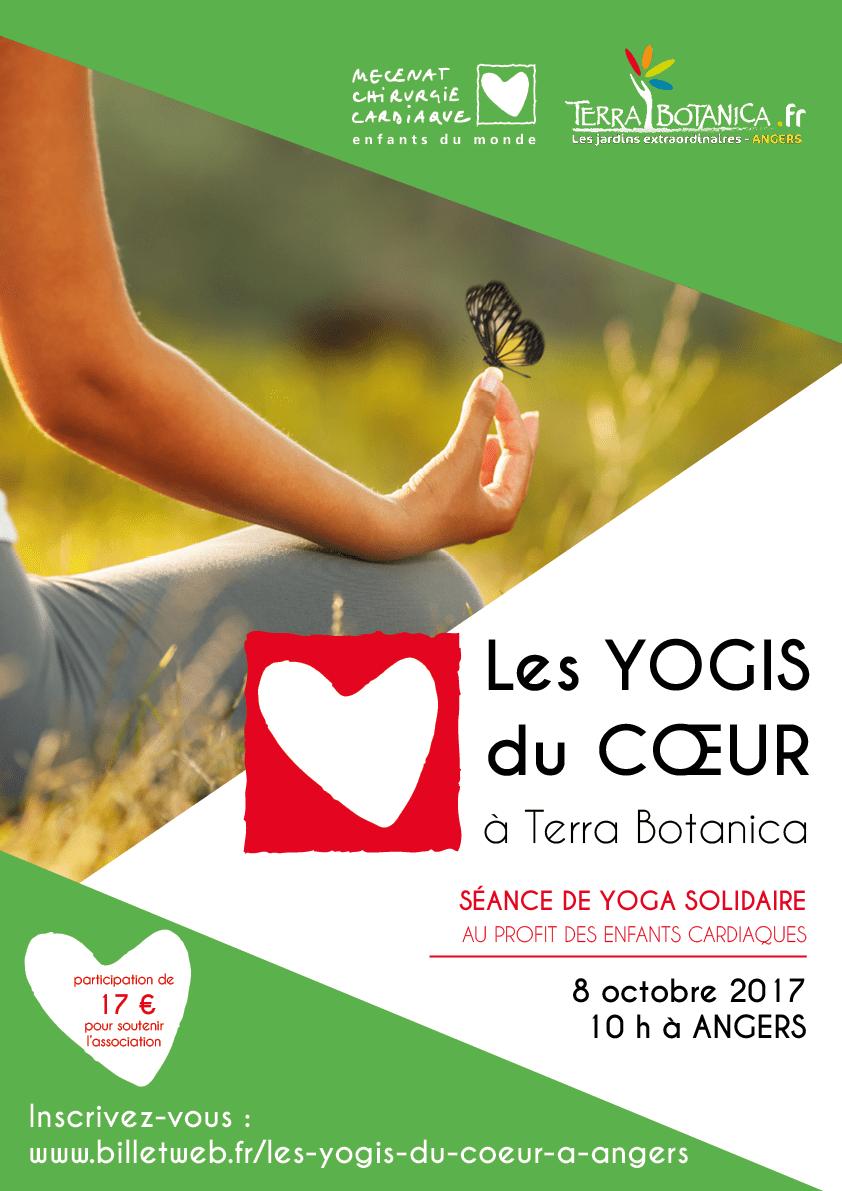 Affiche Yogis du coeur - Terra Botanica