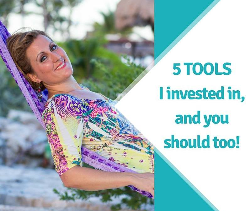 5 Tools I Invested In and So Should You