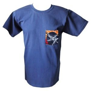 HIBOU BOR Veins Mens Patch Pocket T-Shirt XLN