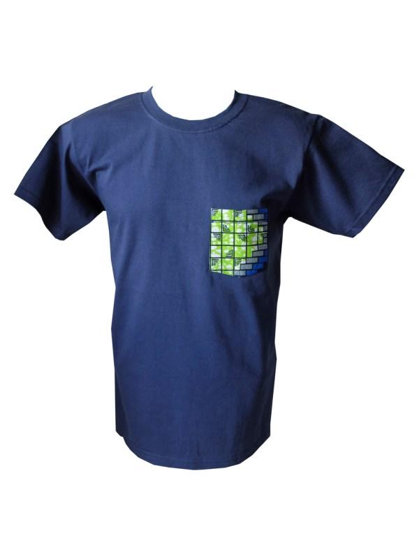 HIBOU BYG Cube Mens Patch Pocket T-Shirt SN