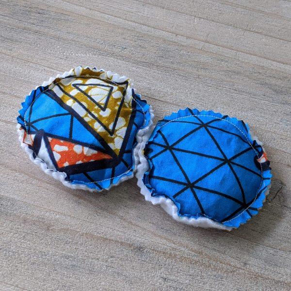 HIBOU Blue Boomerang Hand Warmer Circle a