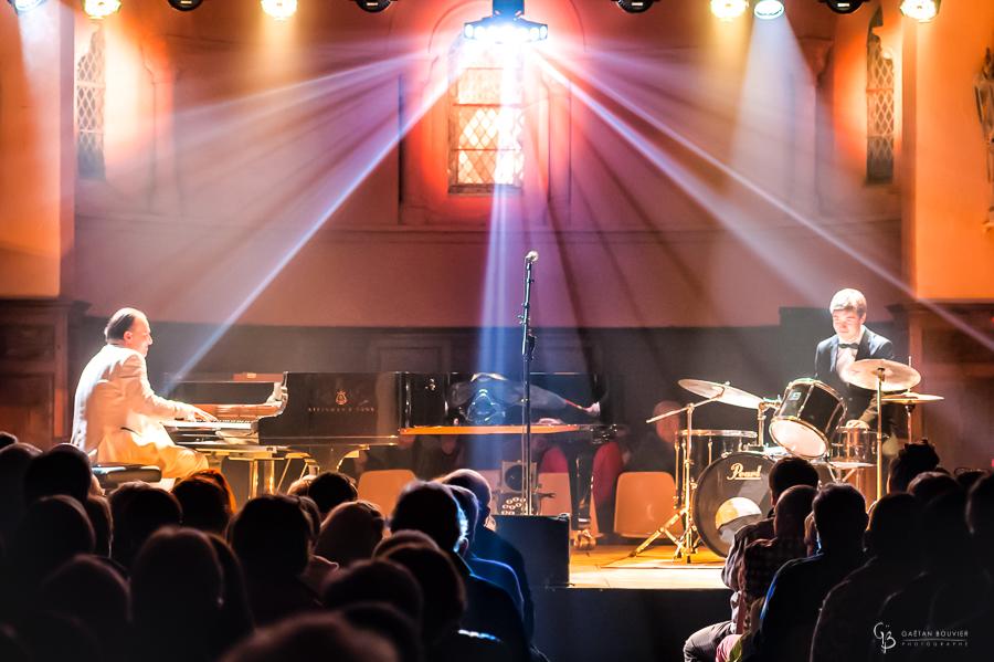 Fabrice Eulry et Octave en concert à Trivy