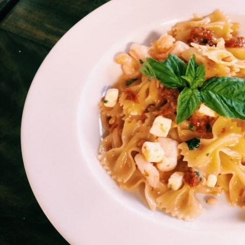 Shrimp Mediterranean Pasta