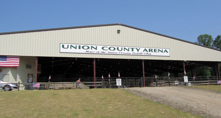 union county saddle club arena in blairsville georgia