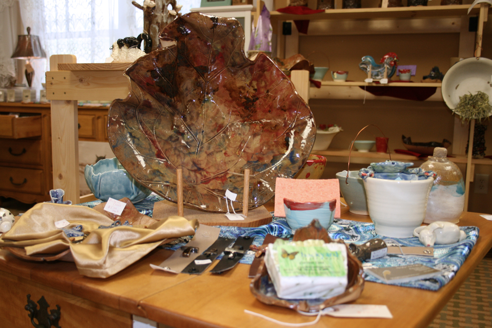 Pottery at High Country Shops