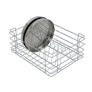 Thali Basket (8″ Height X 19″ Width X 20″ Depth) Stainless Steel