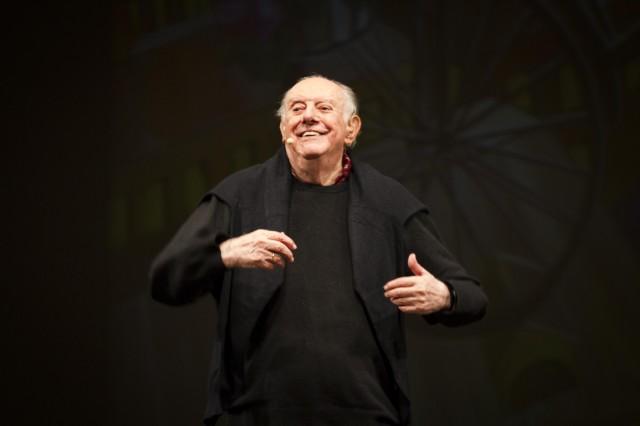 Dario Fo - foto Luca Vittorio Toffolon