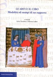 copertina del libro di Frabrizio Lollini, le-arti-e-il-cibo