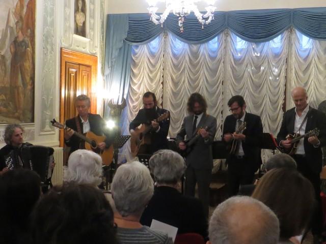 Palazzo Albrizzi, Venezia –  Roberto Bongianino, Paolo Bonfanti, Ross James, John Kadlecik, Scott Law e Martino Coppo