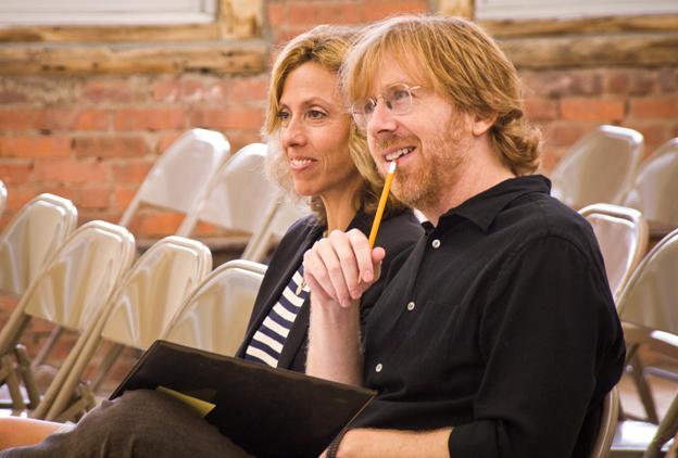 Trey Anastasio con la moglie Amanda