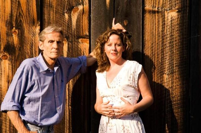 Amy Helm con il padre Levon Helm (26 maggio 1940 – 19 aprile 2012)