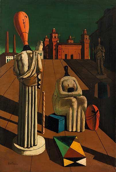 Giorgio de Chirico, Le Muse inquietanti, 1918