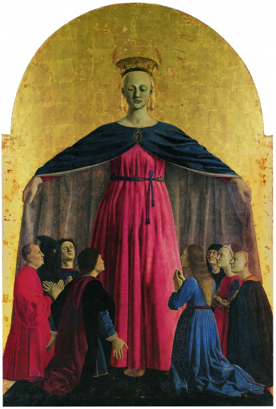 Piero della Francesca, Madonna della Misericordia, 1445-1462