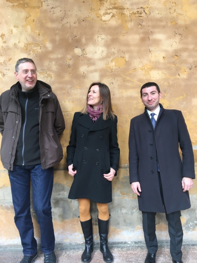 Francesco Giomi, Simona Bertozzi, Enrico Pitozzi - foto Nexus
