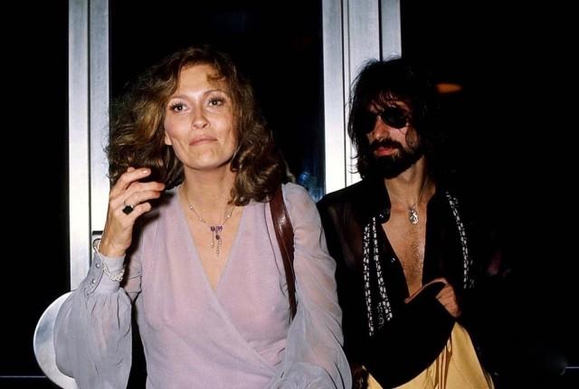 Peter Wolf con l'ex moglie Faye Dunaway – 1977