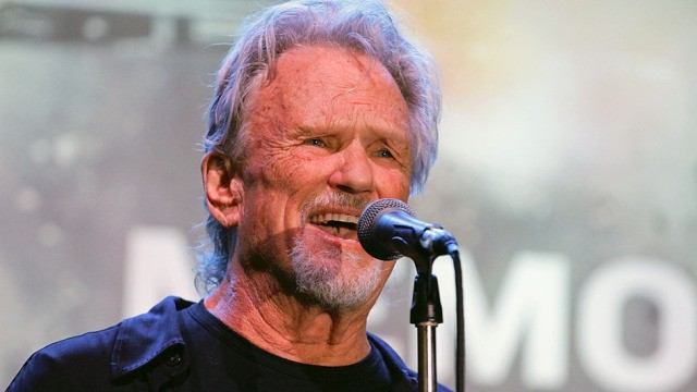 "SAN ANTONIO, TX - MAY 18: Kris Kristofferson performs onstage at the ""Texas Honors"" event to celebrate the epic new HISTORY miniseries ""Texas Rising"" at the Alamo on May 18, 2015 in San Antonio, Texas. (Photo by Rick Kern/Getty Images for HISTORY)"
