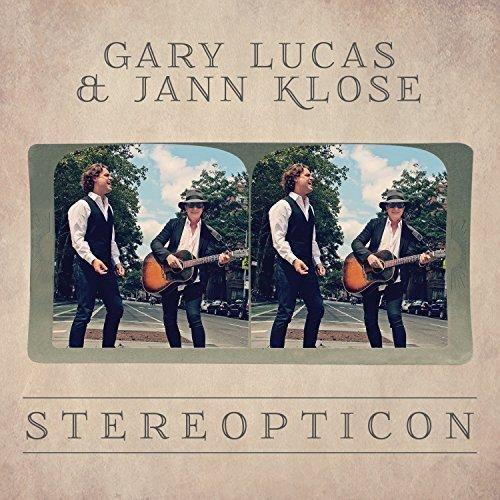 La copertina di Stereopticon, pubblicato con Jann Klose.