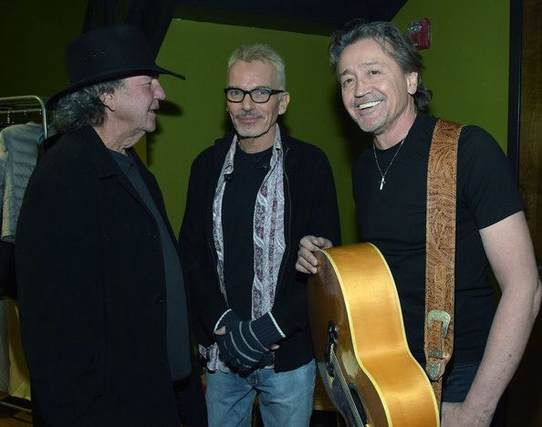 Tony Joe White con Billy Bob Thornton e Mark Collie...