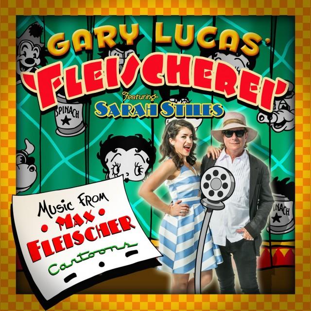 La copertina di Fleischerei, il disco dedicato ai cartoon di Max Fleischer.