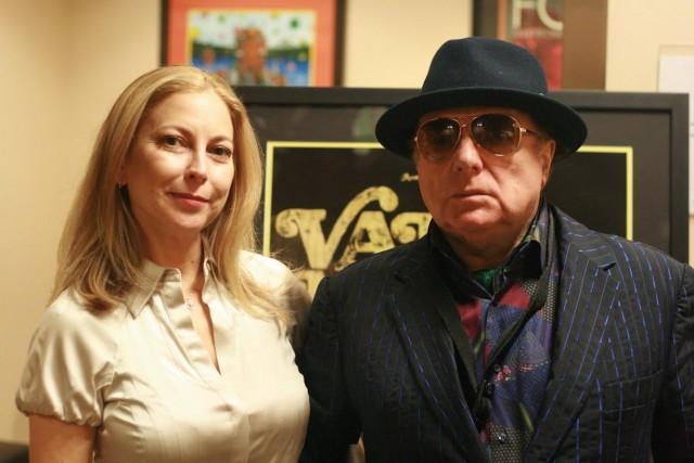 Van Morrison con la figlia Shana