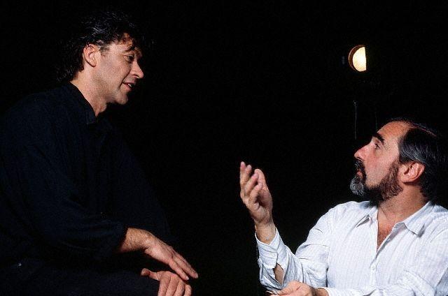 Robbie Robertson con Martin Scorsese nel 1988