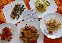 I piatti finalisti dell'edizione 2016