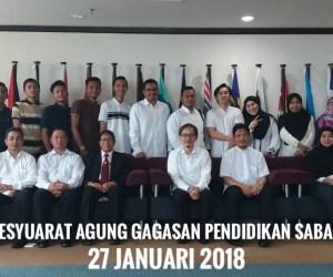 Mesyuarat Agung Gagasan Pendidikan Sabah Bil 4/2018