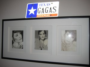 Gaga on the Wall
