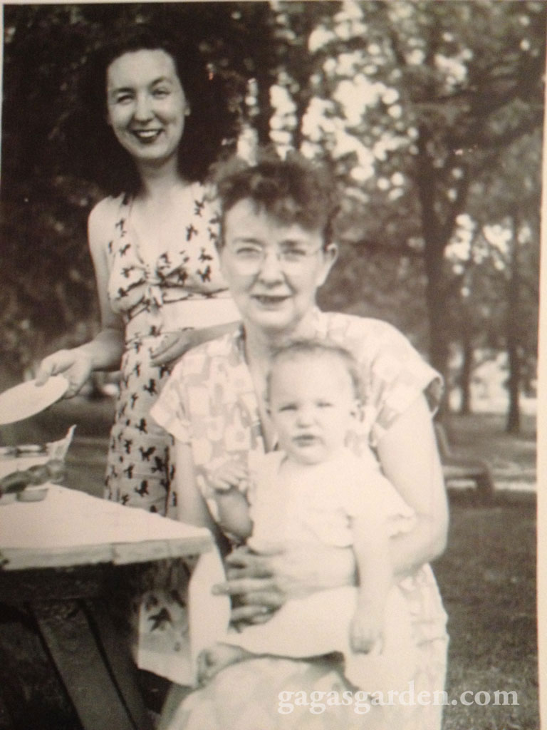 Mother, Grandmother, me
