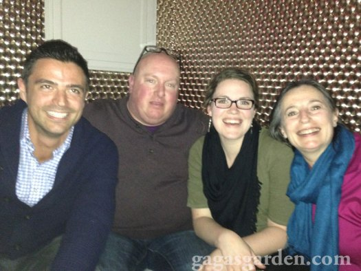 John Gidding, Bruce Bailey, Bonnie Plants Team at the 'W'