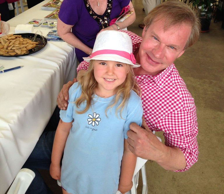 P. Allen Smith is Wonderful with Kids