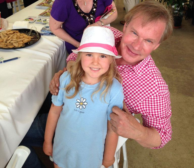 P. Allen Smith is Wonderful with Kids