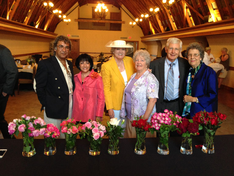 The Biltmore Rose Trial Judges