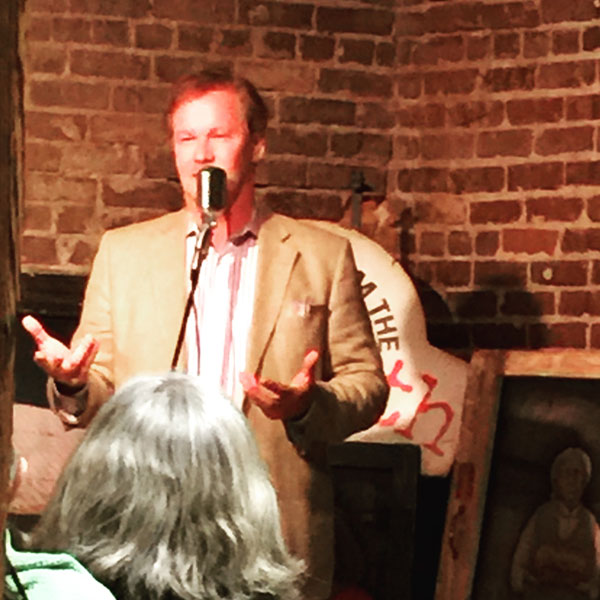 P. Allen Smith Telling the Story of His Swans