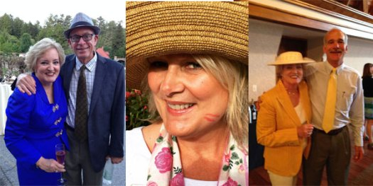 Paul Zimmerman   LeeAnn Donnelly   Parker Andes The Biltmore Team that put the International Rose Trials Together