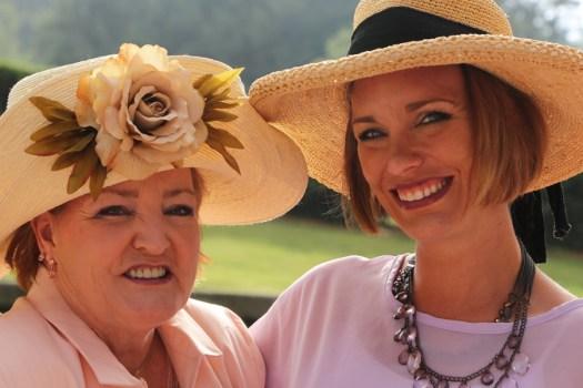 Susan Fox | Debbie Zary at The Biltmore Rose Trials, Ashville, NC