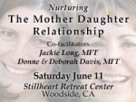 Nurturing the Mother-Daughter Relationship: A Yoga and Communication Retreat