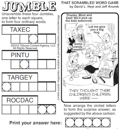 jumble solver 2 words solving the morning jumble gaga sisterhood 799